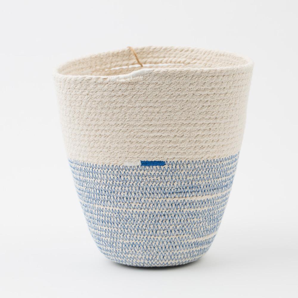 Cotton Cord Blue Amp White Basket Blue Amp White Company